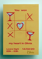 Lovers Night en Olivia Wine & Cocktail Bar, San Valentín Sitges (Sitges - Visit Sitges) Tags: san valentin sitges 2020 olivia bar copas cocktail