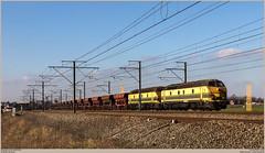 TUC-Rail 5537 + 5539 @ Nossegem (Wouter De Haeck) Tags: belgië belgique belgien infrabel l36 brussel bruxelles brusselnoord bruxellesnord liège luik liègeguillemins vlaanderen vlaamsbrabant nossegem zaventem tucrail hld55 bn labrugeoiseetnivelles gm generalmotors cargo güterzug traindemarchandise freighttrain steenslag steenslagtrein ballast quenast leuven leuvenbundelm