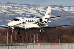 G-CIEL_01 (GH@BHD) Tags: gciel cessna c560 c560xl citation citationexcel londonexecutiveaviation belfastcityairport lea luxaviation bhd egac aircraft aviation bizjet corporate executive