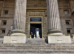 Top entrance to Preston's Harris Museum (Tony Worrall) Tags: preston lancs lancashire city welovethenorth nw northwest north dailyphoto photooftheday nice update place location uk england visit area attraction open stream tour country item greatbritain britain english british gb capture buy stock sell sale outside outdoors caught photo shoot shot picture captured ilobsterit instragram photosofpreston harrismuseum columns steps doorway portal architecture building stone museum sony