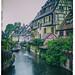Jour de pluie à Colmar (La petite Venise)
