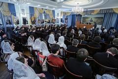 13 февраля 2020, Встреча с А.В. Щипковым в Ставропольской духовной семинарии