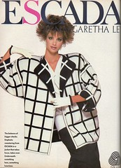 Escada 1986 (barbiescanner) Tags: escada vintage retro fashion vintagefashion 80s 80sfashions 1980s 1980sfashions 1986