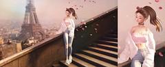 « Un peu d'amour et de calme » (Koffitear) Tags: secondlife second life secondlifephotography photography paris pose eiffel tower france lyrium equal10 event genus nitropanic sintiklia