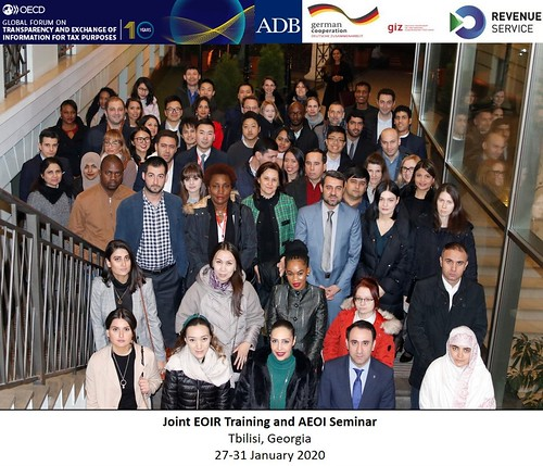 Global Forum and Asian Development Bank delivered a training in Georgia on the implementation of the international tax transparency standards