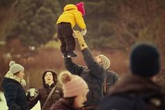 I Can Fly, Morton Arboretum. (EOS) (Mr. Mega-Magpie) Tags: canon eos 60d nature outdoors family fun the morton arboretum lisle dupage il illinois usa america winter snow people person man woman guy lady mom dad fella dude