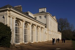 Kenwood House on a bright Winter day … (marc.barrot) Tags: park uk building london architecture mansion hampstead hampsteadheath kenwoodhouse neoclassical nw3 robertadam lordmansfield x100f
