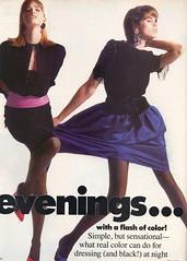 Vogue editorial shot by Paul Lange 1986 (barbiescanner) Tags: vintage retro fashion vintagefashion 80s 80sfashions 1980s 1980sfashions 1986 paullange vogue vintagevogue editorial suzannelanza mariajohnson