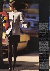 Vogue editorial shot by Paul Lange 1986 (barbiescanner) Tags: vintage retro fashion vintagefashion 80s 80sfashions 1980s 1980sfashions 1986 paullange vogue vintagevogue editorial gailelliott