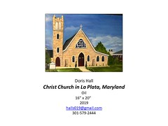 "Christ Church in La Plata, Maryland • <a style=""font-size:0.8em;"" href=""http://www.flickr.com/photos/124378531@N04/49530418963/"" target=""_blank"">View on Flickr</a>"