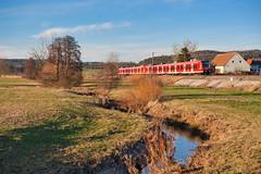 Nahverkehr (Korbinian Eckert) Tags: baureihe 425 eisenbahn db regio deutsche bahn train outside bach et elektrotriebwagen triebwagen multiple unit nahverkehr electric