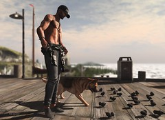 """Not all dogs are good boys. Some are good girls…"" (Roy Mildor / Designer) Tags: roynildor remezzo meva accessevent tmdevent aitui topstriker aaravtattoo signature cool guy man male men fotograf photographer profile sl secondlife devinseye sim nature landscape"