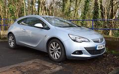 2014 Vauxhall Astra GTC SRI (hugh llewelyn) Tags: 2014vauxhallastragtcsri
