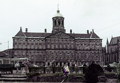 Amsterdam - Royal Palace - PolyColor (bcgreeneiv) Tags: amsterdam holland dutch 1950s slide slides polycolor faded