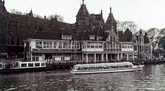 Amsterdam Flower Market - Bloemenmarkt - PolyColor (bcgreeneiv) Tags: amsterdam holland dutch 1950s slide slides polycolor faded
