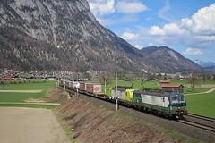 193 299 - Langkampfen (AUT) (Leon Lüttgens) Tags: 193299 193551 vectron vectrondoppel txl txlogistik klv langkampfen kurve landschaft berge österreich