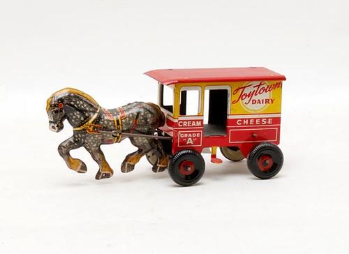 ToyTown Dairy Buttermilk Wagon ($123.20)