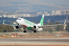 PH-HXB - Boeing 737-8K2 - Transavia (FelixTch) Tags: 737 boeing llbg ben gurion spotting israel 737800
