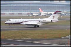 BOMBARDIER BD700 1A11 Global 6000 GlobalJet M-YVVF 9590 Zurich janvier 2020 (paulschaller67) Tags: bombardier bd700 1a11 global 6000 globaljet myvvf 9590 zurich janvier 2020