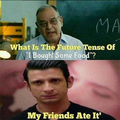 My friends ate it (gagbee18) Tags: aww celebrities english food friends funny funnymemes future memes tense
