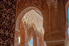 Patio de los Liones (kong niffe) Tags: patiodelosliones alhambra granada españa spain spania palace moorish moors muslim islam art arches buer plaster