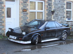 Toyota MR2 (Andrew 2.8i) Tags: japanese carspotting spotting street car cars streetspotting united kingdom wales classic classics sports sportscar coupe aw11 mr2 toyota