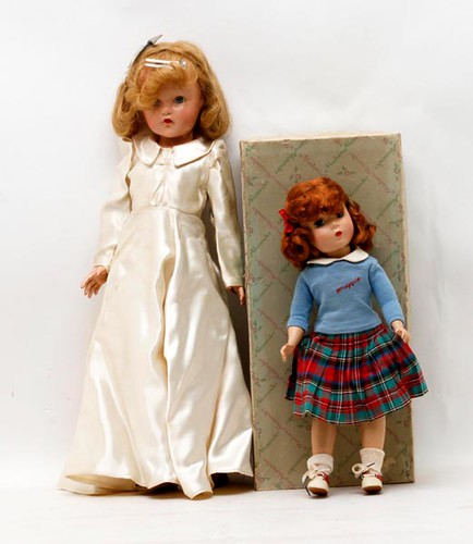Effanbee composition doll with box (right side) ($168.00)