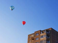 Baloons (Tery14) Tags: balloon sky blue