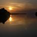 Sunset over Rio Negro, Amazonas