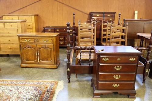 4 piece Sumter Cherry Bedroom Set ($896.00)