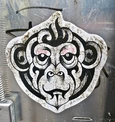 Agyagi, New York, NY (Robby Virus) Tags: newyorkcity nyc ny newyork manhattan bigapple agyagi artist street sticker slap tattoo art