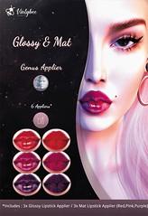 Violybee. - Glossy & Mat Lipstick Applier (GENUS) (Violybee.) Tags: secondlife genus applier violybee