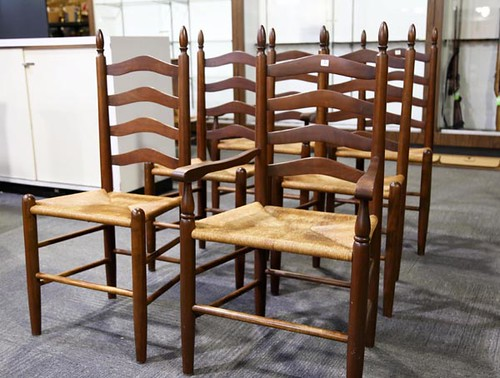 Set of 6 Clore Ladderback Chairs ($448.00)
