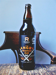 Wee Angry Scotch Ale from Russell Brewing (knightbefore_99) Tags: bc beer local tasty cerveza pivo hops malt craft awesome west coast russell brewing wee heavy angry scotch ale smoky bottle surrey