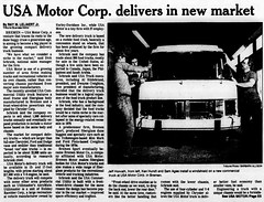 1990 - USA Motors - South Bend Tribune - 5 Aug 1990