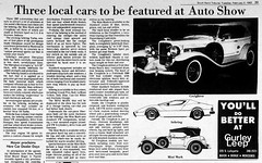 1982 - Bremen Sport show - South Bend Tribune - 2 Feb 1982