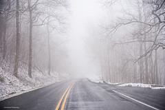 Sweet Memories... (jaegemt1) Tags: snow path road fog foggy foggypath blueridgeparkway forest northcarolina mariajaegerphotography jaegemt1 outdoors memories
