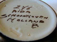 aida 9 (southofbloor) Tags: schoonhoven aida gouda 276 pottery