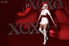 ❤ Juliet Valentine (Aziza Style) Tags: hillyhaalan genus maitreya glamaffair arte izzies trendmakeup witchocraft elise tableauvivant somethingnew secondlife