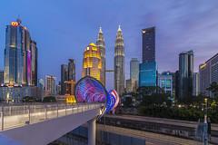 Saloma Link @ Pintasan Saloma, Kuala Lumpur, Malaysia (Ezry A Rahman) Tags: ezryarahman ezryarahmanphotography kualalumpur kualalumpurcityscape pintasansaloma salomalink bridge architecturemalaysia architecture malaysia visitmalaysiayear2020 vmy2020 tourismmalaysia malaysiantourism cityscapebyezryarahman cityscape skyscraper