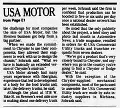 1990 - USA Motors 2 - South Bend Tribune - 5 Aug 1990