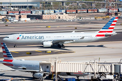2020_02_08 KPHX stock-11 (photoJDL) Tags: a330 airbusa330 americanairlines americanairlinesa330 jdlmultimedia jeremydwyerlindgren kphx n277ay phx aircraft airline airplane airport aviation