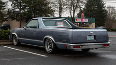 1983 Chevrolet El Camino (mlokren) Tags: car photography photo spotting 2020 pictures usa oregon pacific northwest photos pics picture pic vehicles vehicle pnw pacnw chevrolet outdoors automobile gm general outdoor automotive motors chevy transportation 1983 automobiles vehicular blue truck camino pickup el