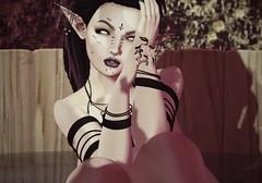 Spa Day (d3vilzangel) Tags: secondlife sl second life elf elven bento mesh lelutka belleza freya goth