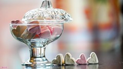 SWEETS FOR MY SWEET - 8087 (✵ΨᗩSᗰIᘉᗴ HᗴᘉS✵92 000 000 THXS) Tags: smileonsaturday sweetsformysweet glass verre cristal heart corazon coeur sony sonyilce7 sonyilce7m3 belgium europa aaa namuroise look photo friends be yasminehens interest eu fr 123faves party greatphotographers lanamuroise flickering challenge