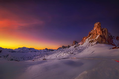 Afterglow (Gio_guarda_le_stelle) Tags: genesis dolomiti dolomites dolomiten sunset afterglow tramonto giau