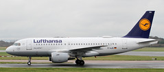 D-AIBA Lufthansa Airbus A319-112 3 (ahisgett) Tags: ringway manchester man airliner