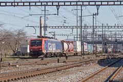 SBB Cargo 474 018 Pratteln (daveymills37886) Tags: sbb cargo 474 018 pratteln baureihe siemens es64f4