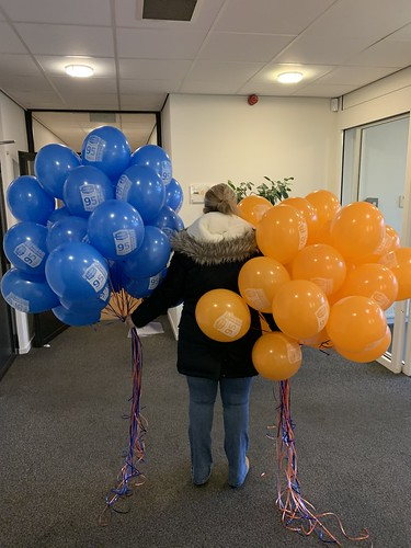 Heliumballonnen Bedrukt Enraf Rotterdam