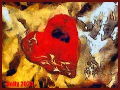 *Just one......!* (MONKEY50) Tags: art digital colors pentaxart psp macro heart musictomyeyes hypothetical awardtree artdigital netartii exoticimage flickraward autofocus contactgroups